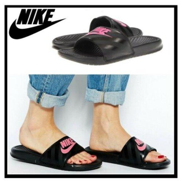 Nike Women's Benassi JDI Slide Sandals. New